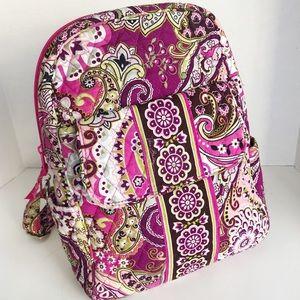 Vera Bradley Pink Paisley Backpack